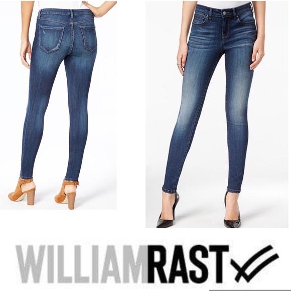 William Rast Denim - WILLIAM RAST Jeans High Rise Skinny Raw Edge  NWT